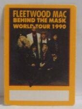 Fleetwood Mac / Stevie Nicks - Original Small Tour Cloth Backstage Pass