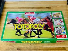 Vintage Waddingtons Totopoly Board Game - Complete