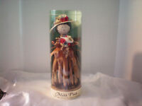 "HAWAII  Flower Doll ""Miss Pua"" Handmade Decoraive Collectible"