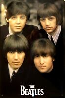 The Beatles Retrato Letrero de Metal 3D en Relieve Arqueado Cartel Lata 20 X 30
