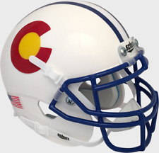 COLORADO STATE RAMS NCAA Schutt XP Authentic MINI Football Helmet CSU