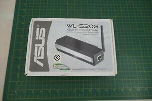 ASUS WL-530G Pocket 4-Port Router - Black; Antenna