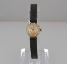 Vintage Omega 18ct Yellow Gold 1964 Ladies Manual Watch