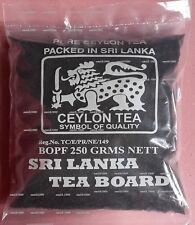 SRI LANKA TEA BOARD - CEYLON LOOSE TEA 250g PACK - BOPF BLACK TEA - (SMALL LEAF)