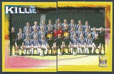PANINI SCOTTISH PREMIER LEAGUE 2000- #271/272-KILMARNOCK TEAM PHOTO