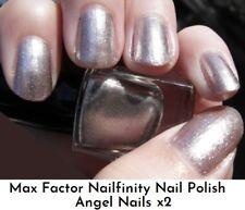 2 x Max Factor Nailfinity Nail Polish Angel Nails