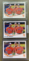 DAVID WRIGHT NEW YORK METS 2013 TOPPS UPDATE PHOTO VARIATION SP #US316 Lot Of 3