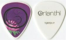 Orianthi real 2010 concert tour HER first custom stage Guitar Pick Alice Cooper