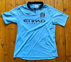 Manchester City FC 2012 Umbro Away Shirt – Mens L - Excellent Condition