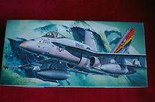 "MAQUETA AVION 1/72 F/A 18C HORNET "" STINGERS"" FUGIMI F-4"