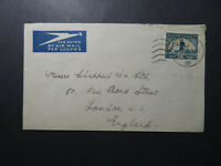 South Africa 1937 Airmail Cover to UK - Z12516