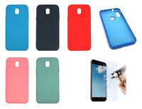"""Cover Custodia Rigida in Silicone Ultra Morbida Per Samsung Galaxy J5 2017 5.2"""""""