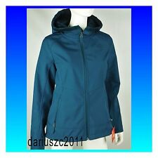 The North Face Women's Hoodie Windwall Jacket Blue XL Osito Soft Shell