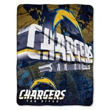 NFL SAN DIEGO CHARGERS 46X60 SOFT FLEECE MICRO RASCHEL THROW BLANKET