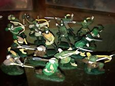 BARZSO ROBIN HOOD AND MEN PAINTED SET OF 16