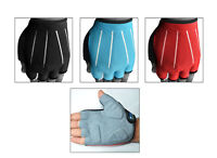 Cycling Bicycle Finger-less Gloves Cycle Foam Padded on Palm Road S,M,L,XL, DAM