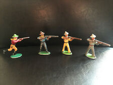 Figurines Quiralu : Far West . 4 soldats