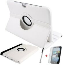 Schutzhülle f Samsung Galaxy Tab 3 10.1 P5200 P5210 Tasche Kunstleder Case weiss