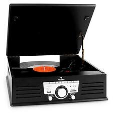 RETRO DESIGN HIFI STEREO ANLAGE PLATTEN SPIELER ENCODER USB MP3 PLAYER AUX RADIO