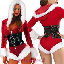 Costume vestito carnevale donna Babbo BABBA NATALE travestimento nuovo DL-2025