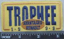 Trophee 1999 Avantages Renault Patch