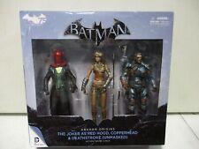DC Collectibles Batman Arkham Origins The Joker, Copperhead, Deathstroke