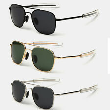 Aviator Sunglasses Premium Military Pilot Ultraviolet Mens Polarized Sunglasses