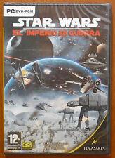 Star Wars: El Imperio en Guerra [PC DVD-ROM] Lucas Arts Versión Española ¡NUEVO!