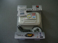 NDS Lite EVA Case, Earphones, Stylus, Charger & Lens Protector Kit   NEW