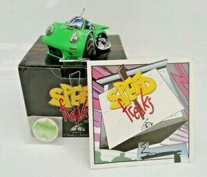 "Speed Freaks ""Porker"" Porsche Rare 03008 Tax Disc Paperwork Boxed VGC"