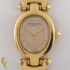 Raymond Weil Mujer 18Ct Oro Amarillo Electrochapa Othello Reloj de Cuarzo 5870
