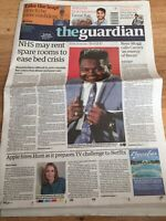 Fats Domino Rock N Roll Obituary Front Page Newspapers Guardian 26/10/2017