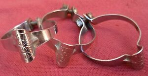 3 colliers Simplex  de gaine  vélo vintage