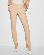 NEW EXPRESS $70 Foundation ULTIMATE DOUBLE WEAVE COLUMNIST ANKLE PANTS sz 6S