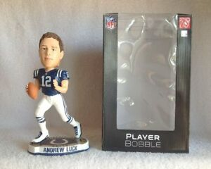 Andrew Luck Indianapolis Colts Logo Base Bobble Indianapolis Colts Bobblehead