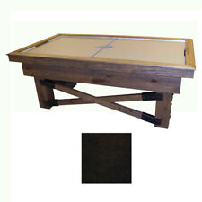 Walnut Maple Dynamo Rustic Air Hockey Table
