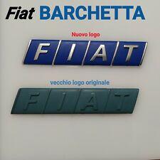 Fregio emblema stemma logo targhetta portellone posteriore FIAT barchetta
