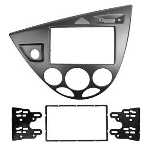 Double Din Stereo Panel for Ford Fiesta Focus Fascia Radio Refitting Dash Kit