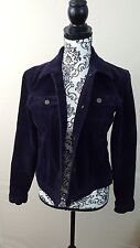 Ralph Lauren jacket Womens Corduroy Jeans Purple Wide Whale Small Looks Unworn