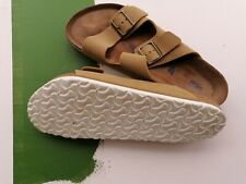 Birkenstock arizona soft footbed beige suede size 44/10