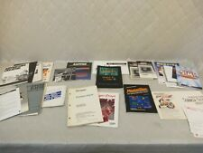 Computer Gaming Ephemera Manuals LOT Atari ST Commodore Amiga Mac + more