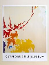 """CLYFFORD STILL ABSTRACT EXPRESSIONIST LITHOGRAPH PRINT POSTER """" PH-432 """" 1964"""