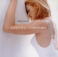"""MADONNA """"SOMETING TO REMEMBER - HER GREATEST HITS"""" CD"""