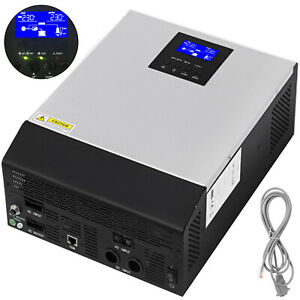 3KVA 24V MPPT Off-Grid Pure Sine Wave Solar Inverter AC Charger Solar Controller