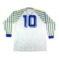 1990-91 Parma Maglia Home Match Worn #10 Cuoghi   SHIRT MAILLOT TRIKOT
