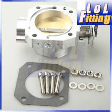 BILLET THROTTLE BODY 70MM 70 MM FOR HONDA CIVIC SI CRX INTEGRA GSR DIRECT FIT