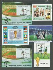 Thematic Sport 10 Football. Miniature Sheets