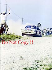 Henri Toivonen ROTHMANS OPEL MANTA 400 WRC Stagione 1983 Fotografia