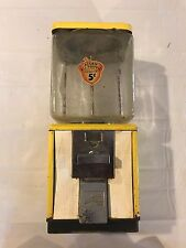 Vintage Northwestern Nut Candy Vending Machine with Acorn Decal