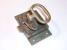 vintage ancien SERRURE POIGNEE à loquet OLD Locker de FENETRE PORTE MEUBLE DOOR